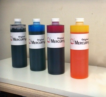 SET TINTA COMESTIBLE - EDIBLE INK SET - 4 COLOR - 1 LT
